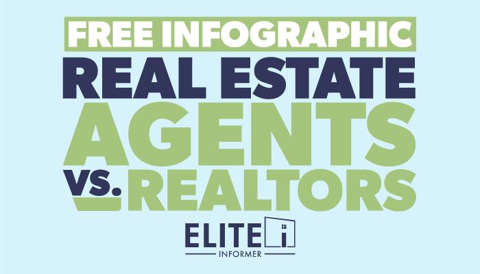 FREE Infographic - Real Estate Agents vs. Realtors